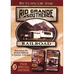 Return of the Rio Grande Southern Railroad - 3 Film Edition