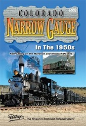 Colorado Narrow Gauge in the 1950s - DVD Video