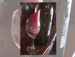 Colorado Railroad Museum Wine Glass