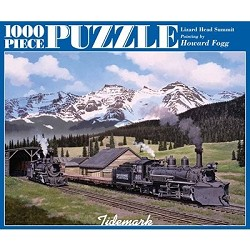Lizard Head Summit - 1,000 Piece Puzzle by Howard Fogg