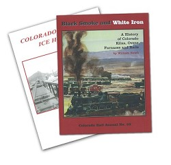 William Reich Bundle - CO Rail Annual 29 & CO RR Ice Houses
