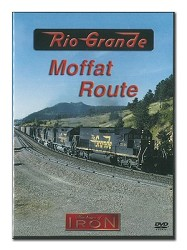 Rio Grande Moffat Route - Machines of Iron DVD
