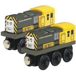Iron Arry & Iron Bert - Thomas & Friends™ Wooden Railway