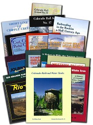 Complete Set of Available CO Railroad Museum Publications