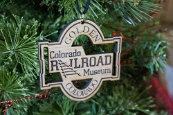Colorado Railroad Museum Wooden Ornament