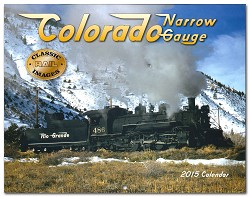 2015 Calendar - Colorado Narrow Gauge