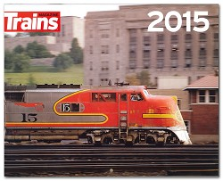 2015 Calendar - Trackside with Trains