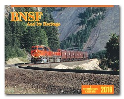 2016 Calendar - BNSF And Its Heritage