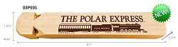 Polar Express Wood Train Whistle