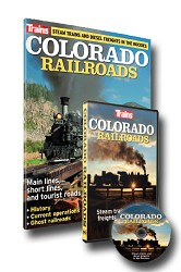 Trains Magazine: Colorado Railroads Magazine & DVD Combo