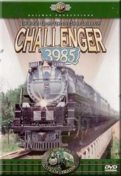 Challenger 3985 - Railway Productions DVD