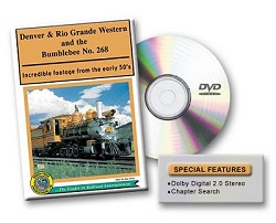 D&RGW and the Bumblebee No. 268