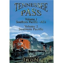 Tennessee Pass Volumes 1 & 2 - Machines of Iron DVD,TENNSET/DR