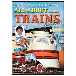 All about Trains for Kids - Family DVD