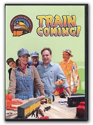 Train Coming! - The Choo Choo Bob Show DVD