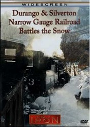 Durango & Silverton Narrow Gauge Railroad Battles the Snow,FLANGER/DR