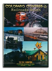 Colorado Covered 3 Railroads South - DVD