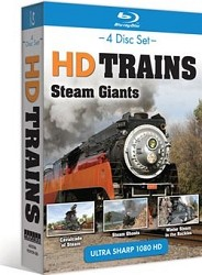 HD Trains Steam Giants - Blu-Ray 4 Disc Set
