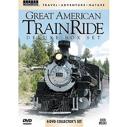 Great American Train Ride Deluxe Box Set - 4 DVD Set