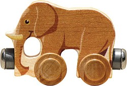 "Nametrain Animals ""Elmer the Elephant"""