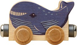 "Nametrain Animals ""Wally the Whale"""