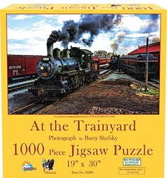At the Trainyard 1000pc Puzzle