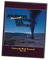 CRA NO. 22 - Journeys Through Western Rail History,SLC