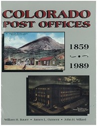 Colorado Post Offices 1859-1989,COOR