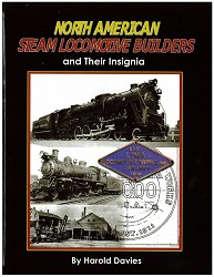 North American Steam Locomotive Builders and Their Insignia