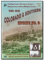 The Old Colorado & Southern Engine No. 9 - DVD