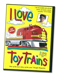 I Love Toy Trains 5-DVD Collector's Set - Family DVD