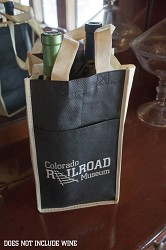 Colorado Railroad Museum Wine Bag