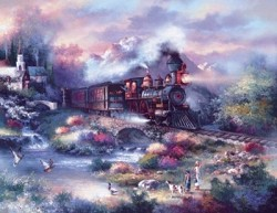 Spring Creek Express 1000 pc puzzle