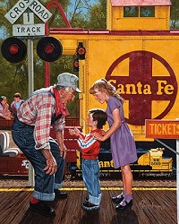 Train Conductor - 1,000 Piece Jigsaw Puzzle