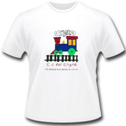 E Is For Engine Child T-Shirt XS