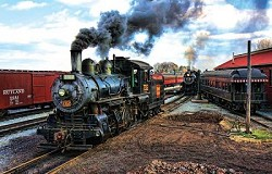 At The Trainyard - 1,000 Piece Jigsaw Puzzle