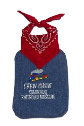 Chew Chew Colorado Railroad Museum Infant Engineer Bib