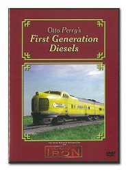 Otto Perry's First Generation Diesels - Machines of Iron DVD