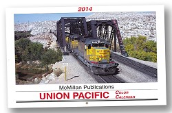 2014 McMillan Publications Union Pacific Color Calendar