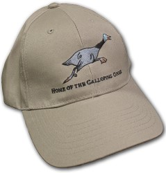 Galloping Goose Khaki Baseball Hat
