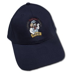 Spike the Railroad Hound Baseball Hat - CO Railroad Museum Navy Youth
