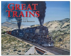 2015 Calendar - Great Trains - Paintings by Gil Bennett