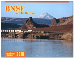 2015 Calendar - BNSF And Its Heritage