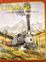 USED BOOK - C & S ng - Colorado & Southern Narrow Gauge As new condition