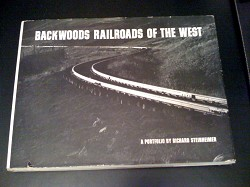 USED BOOK - Backwoods Railroads of the West Good Condition