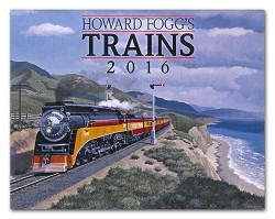 2016 Calendar - Howard Fogg's Trains