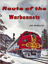 USED BOOKS - Route of the Warbonnets Very Good Condition
