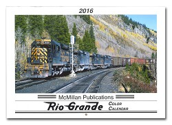 2016 Calendar - McMillan Publications Rio Grande Color