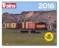 2016 Calendar - Trackside with Trains