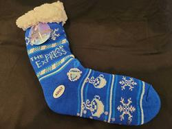 Polar Express Adult Socks